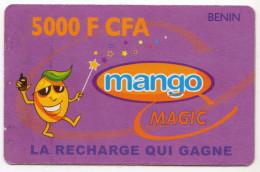 BENIN RECHARGE GSM MANGO 5000 FCFA - Bénin