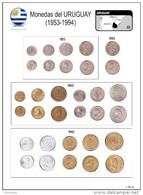 * URUGUAY Coleccion De 63 Monedas (1953-1994) - Uruguay