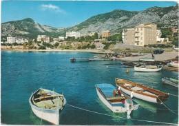 R825 Cala Gonone Calagonone - Dorgali (Nuoro) - Hotel Bue Marino - Barche Boat Bateaux / Viaggiata 1969 - Italie