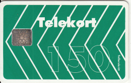 NORWAY - Green Card(5F), Chip SI6, Tirage 3000, Used - Norway