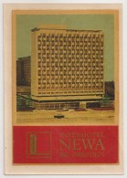 Hotel Label - Germany - Dresden - InterHotel Newa - Deutschland Etiquette - Etiquettes D'hotels
