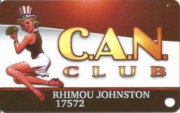 Cannery Casino Las Vegas, NV Slot Card - Copyright 2008 - Casino Cards
