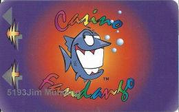 Casino Fandango Carson City, NV Slot Card - Large Fish - Casino Cards