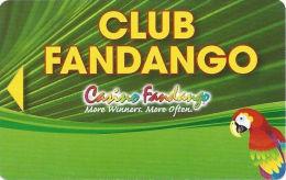 Casino Fandango Carson City, NV Slot Card  (BLANK) - Casino Cards