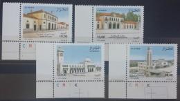 Algeria 2008 MNH Complete Set 4v. - Ancient Algerian Train Stations - Algeria (1962-...)