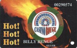 Casino Rouge - Baton Rouge, LA - Slot Card - SILVER Level - Casino Cards