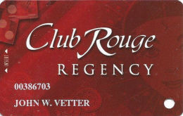 Casino Rouge - Baton Rouge, LA - Slot Card - Last Line In Paragraph Starts ´problem´ - Casino Cards