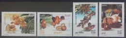 Algeria 2010 MNH Complete Set 4v. - Dates Types - Fruitys - Palm Trees - Algeria (1962-...)