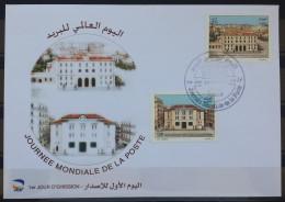 Algeria 2011 FDC - International Day Of The Post - Algeria (1962-...)