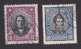 Chile, Scott #171, 173, Used, Famous Chilean, Issued 1929, 1931 - Cile