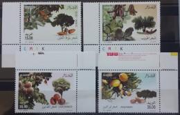 Algeria 2011 Complete Set 4v. MNH - Fruit Trees - Algeria (1962-...)