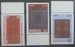 Algeria 2012 MNH Complete Set 3v. -  Ancient Architecture Of Doors, Windows, Portes - Algeria (1962-...)