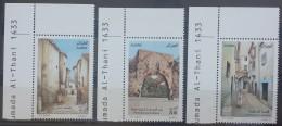 Algeria 2012 MNH Complete Set 3v. - Kasbahs & Portes Of Ancient Algerian Cities - Algerien (1962-...)