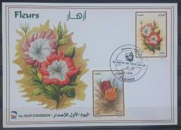 Algeria 2013 FDC -  Algerian Flowers - Algeria (1962-...)