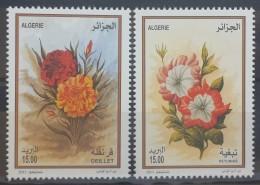Algeria 2013 MNH Complete Set 2v. -  Algerian Flowers - Algerien (1962-...)
