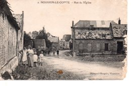 Nouvion Le Comte -- Rue De L Eglise  ..... ( Ref -- 3066 ) - France