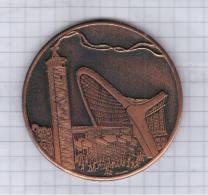 Estonia USSR 1969 Jää Kestma, Kalevite Kange Rahvas, Ja Seisa Kaljuna, Me Kodumaa, Endure, Heroic People - Tokens & Medals
