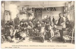 52 - FAYL-BILLOT - École Nationale D'Horticulture Et De Vannerie - Le Travail à L'Atelier ++++ Cl. L. Merget / J. Minot - Fayl-Billot