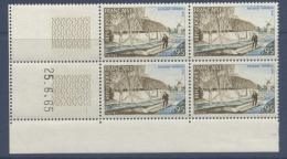 N° 1439 Paysage Vendéen 0,95 F -  Date 25-06-65 - Dated Corners