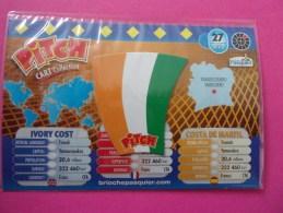 Magnet Pasquier Pitch Drapeau Côte D´Ivoire Ivory Cost Costa De Marfil Yamoussoukro Yamusukro - Tourisme