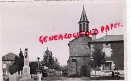 87 - MORTEROLLES - PLACE DE L' EGLISE  MONUMENT AUX MORTS - Frankrijk