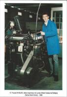 CPM - Franck Khaled Elève Imprimeur Du Lycée Alfred Costes De Bobigny  - 300 Ex - Artisanat