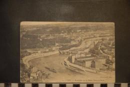 Cp, 69, LYON, 1912, Panorama Sur La Saone , Vaise Et Serin - Autres