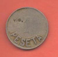 COOPERATIVAS # 1 PESETA SAN JUAN DE HORTA RESELLO V.O. - Spain