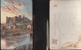 3325) HAVERFORDWEST CASTLE Pembrokeshire NON VIAGGIATA OILETTE TUCK'S POST CARD 7130 TRACCE DI COLLA AL RETRO - Pembrokeshire