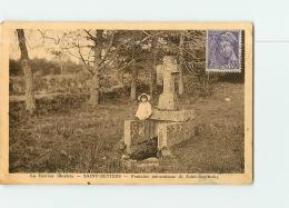 SAINT SETIERS : Fontaine Miraculeuse De Saint Sagittaire. 2 Scans. Edition ? - Autres Communes