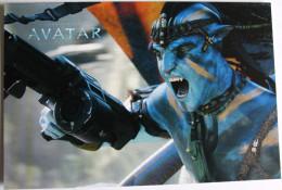 Lot 4 Cartes Postales Publicité Film AVATAR James Cameron - Andere