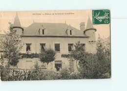 MEYMAC : Château De Sarrazin De Grand Rieu. 2 Scans. Edition ? - Altri Comuni