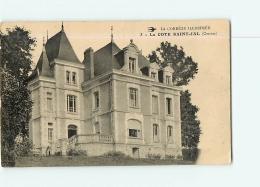 SAINT JAL : LA COTE SAINT JAL. 2 Scans. Edition Torson - France