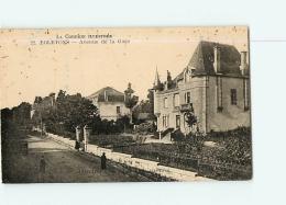 EGLETONS : Avenue De La Gare.  2 Scans. Edition Collection... - Egletons