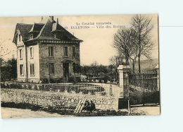 EGLETONS : Villa Des Rosiers.  2 Scans. Edition ? - Egletons