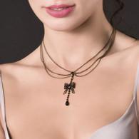 Bijoux De Lingerie Collier Soutien Gorge String Feerie Precieuse Maison Close - Necklaces/Chains
