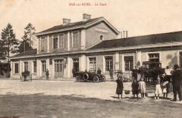 3456. CPA 10 BAR SUR AUBE. LA GARE - Bar-sur-Aube