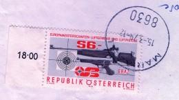 PIA - AUSTRIA - 1979 : Campionati D' Europa Di Tiro Con Armi Ad Aria Compressa -  (YV  1428) - Tiro (armi)