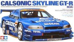 Calsonic Skyline GT-R ( R34 ) 1/24 (  Tamiya ) - Cars