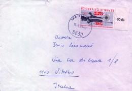 PIA - AUSTRIA - 1979 :  Lettera Per L´ Italia - Tiro (armi)