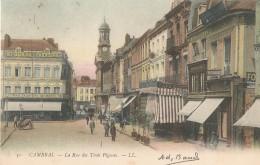 CAMBRAI  -  59  -  La Rue Des Trois Pigeons - Cambrai
