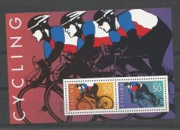 "USA  BL 32 **  (MNH)     "" Cycling 1996 "" - Ciclismo"