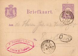 6 NOV 78 Bk Met Kleinrond 'sHERTOGENBOSCH Naar Eindhoven Met Rood Firmastempel - Postal Stationery