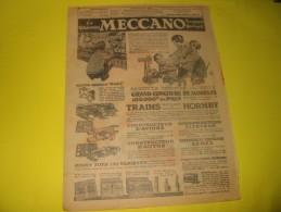 Publicité MECCANO  Trains Voitures Avions 1904 - Publicités