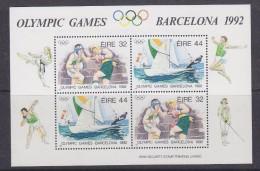 Ireland 1992 Olympic Games Barcelona M/s ** Mnh (30668G) - Zomer 1992: Barcelona