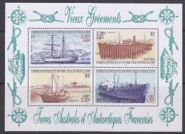 TAAF 2001 Ships M/s ** Mnh (30670) - Blokken & Velletjes