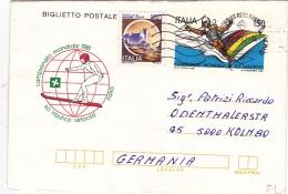 Faltbrief Fil. B 51 Nach Deutschland (o170) - 6. 1946-.. Repubblica