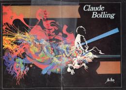 87 - LIMOGES - PROGRAMME MUSIQUE JAZZ- CLAUDE BOLLING - AU GRAND THEATRE - 14 NOVEMBRE 1985 - Programmes