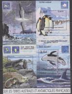 TAAF 2001 Sur Les Terres Australes Et Antarctiqued Françaises M/s ** Mnh (F5233) - Blokken & Velletjes