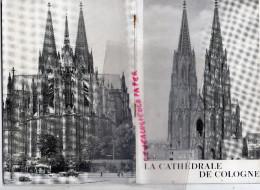ALLEMAGNE - DEPLIANT TOURISTIQUE LA CATHEDRALE - JOSEPH HOSTER- GREVEN EDITEUR- 1949 - Dépliants Touristiques